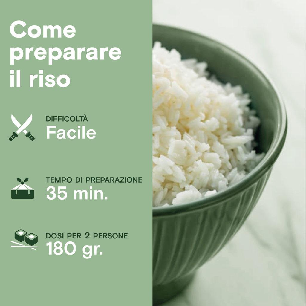 Come preparare il riso